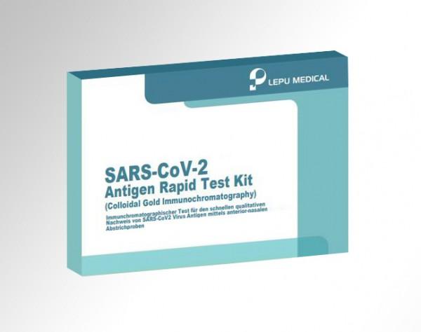 Lepu - Antigen-Nasenbohrertest (einzeln)