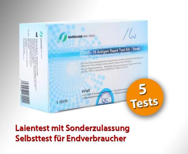 SafeCare - Nasal - Laientest für Endverbraucher