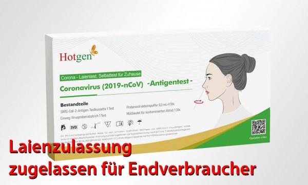 Hotgen - Antigen-Schnelltest (Laienzulassung) (einzeln)
