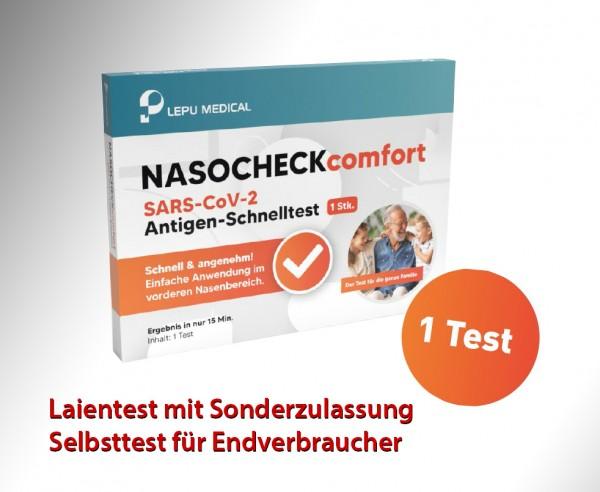 Lepu - Antigen-Nasenbohrertest (Laienzulassung) (einzeln)-PROMO